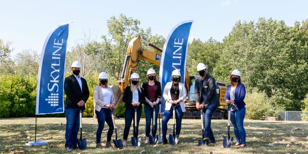 Groundbreaking at 100 Lancaster
