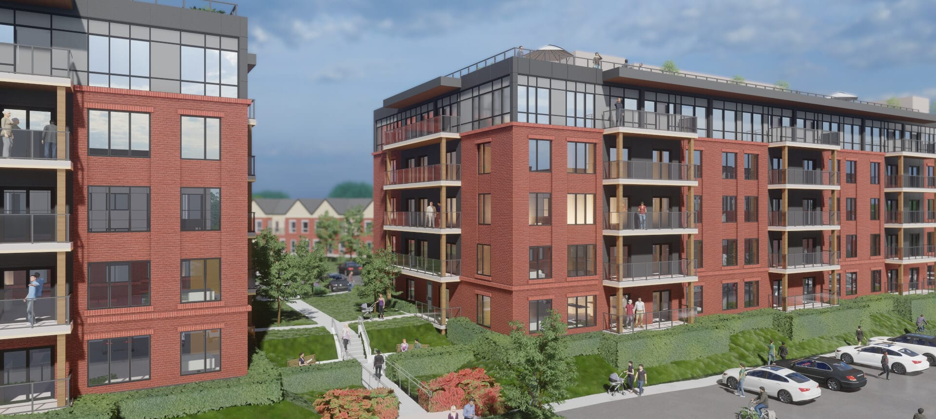 SkyDev Development Meaford - Buildings
