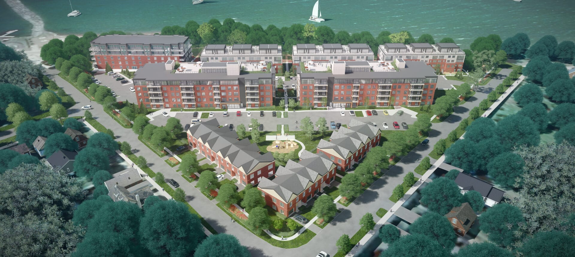 SkyDev Development Meaford - Property Rendering