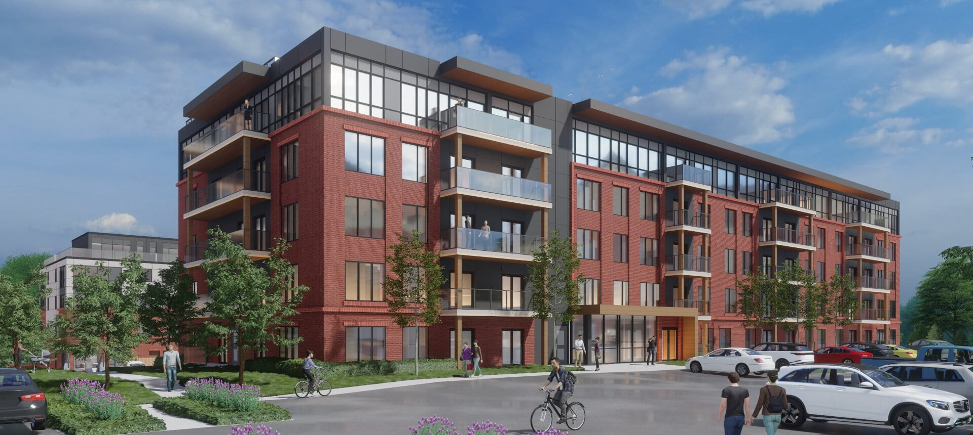 SkyDev Development Meaford - Building-Rendering