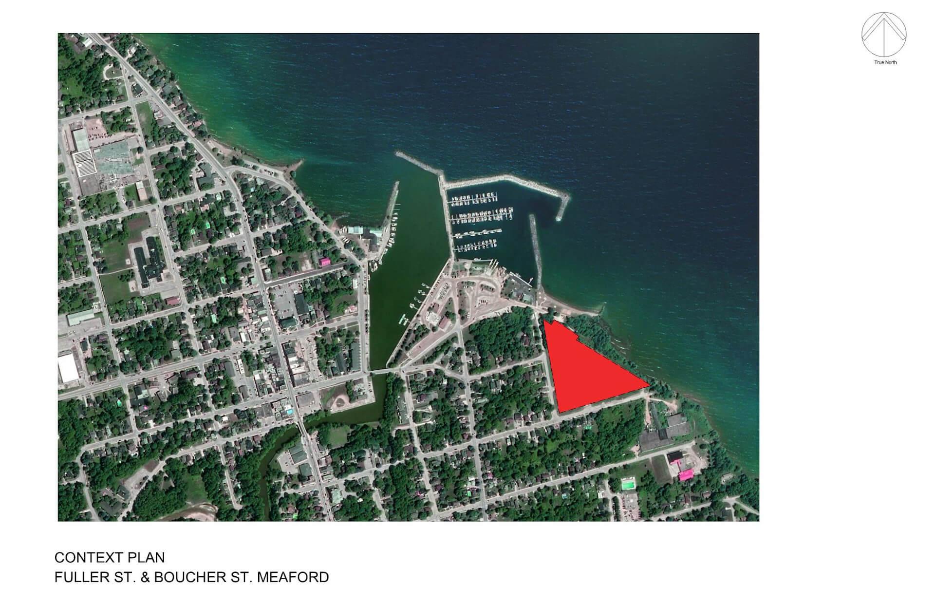 Context Plan, Fuller St. & Boucher St. Meaford