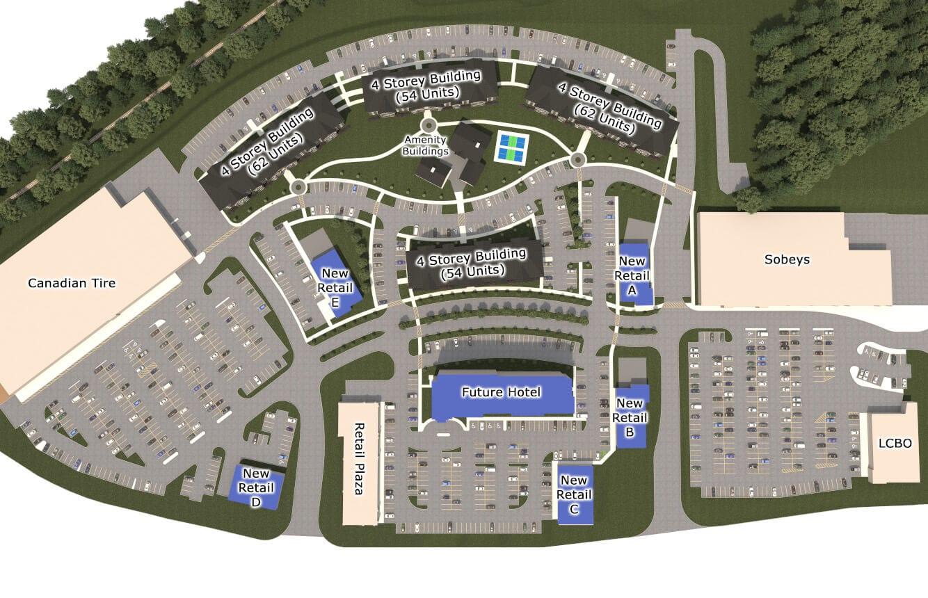 SkyDev - Talisman Place - Arial Site Plan