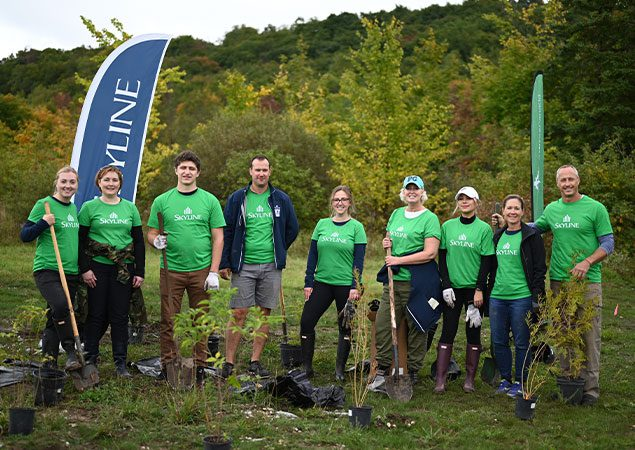 Read More About: SkyDev team planting treets in Collingwood