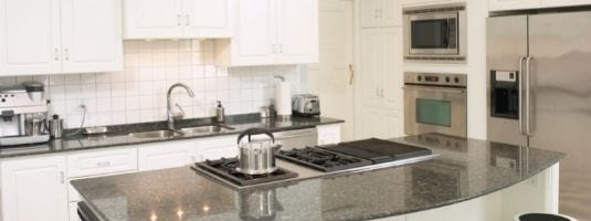 Stainless steel appliances, granite counter tops, and high-end finishes means real luxury